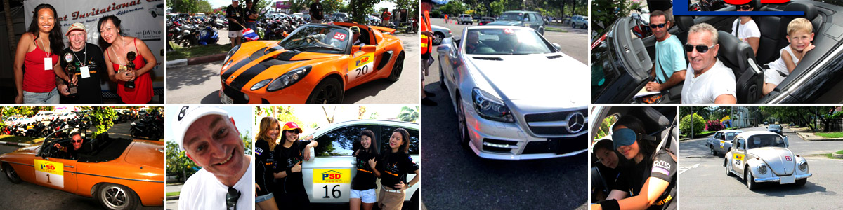 The PVC Phuket dot Com Invitational Car Rally